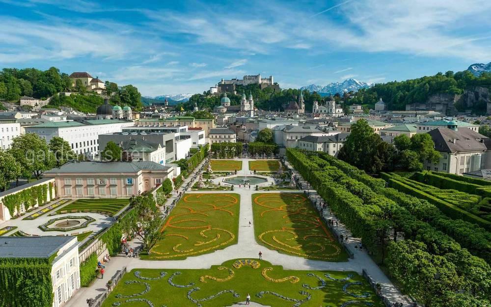 Сади Мірабель у Зальцбурзі