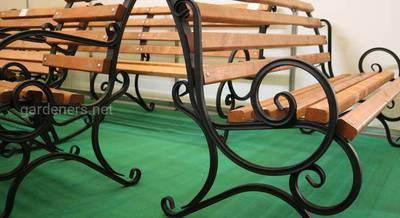 Кованные лавки для сада.JPG