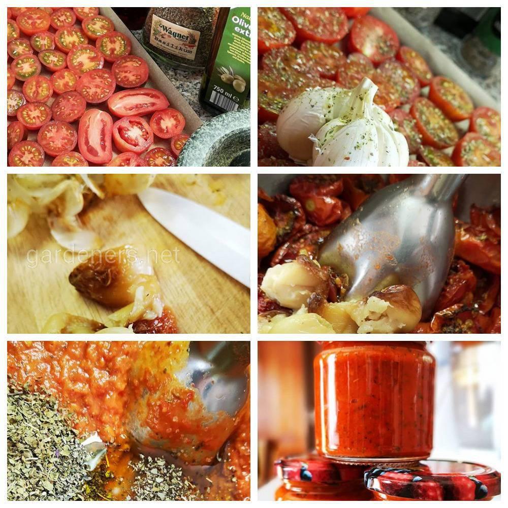 Как приготовить кетчуп домашний жареный
