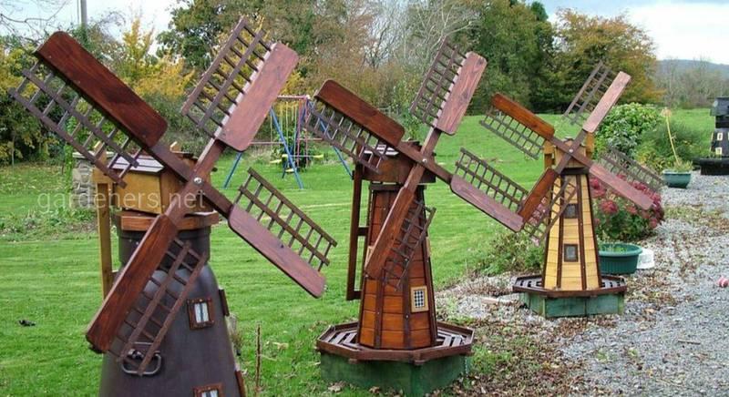 Декоративная ветряная мельница 1