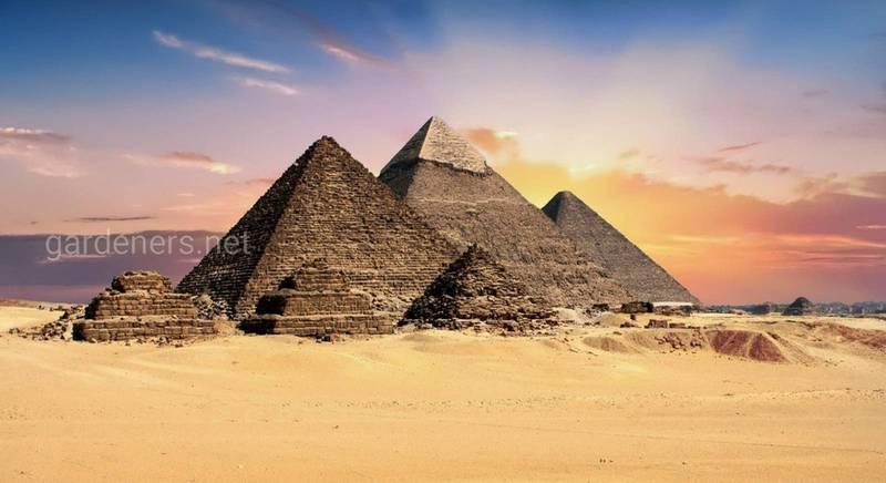 10 интересных фактов о египетских пирамидах