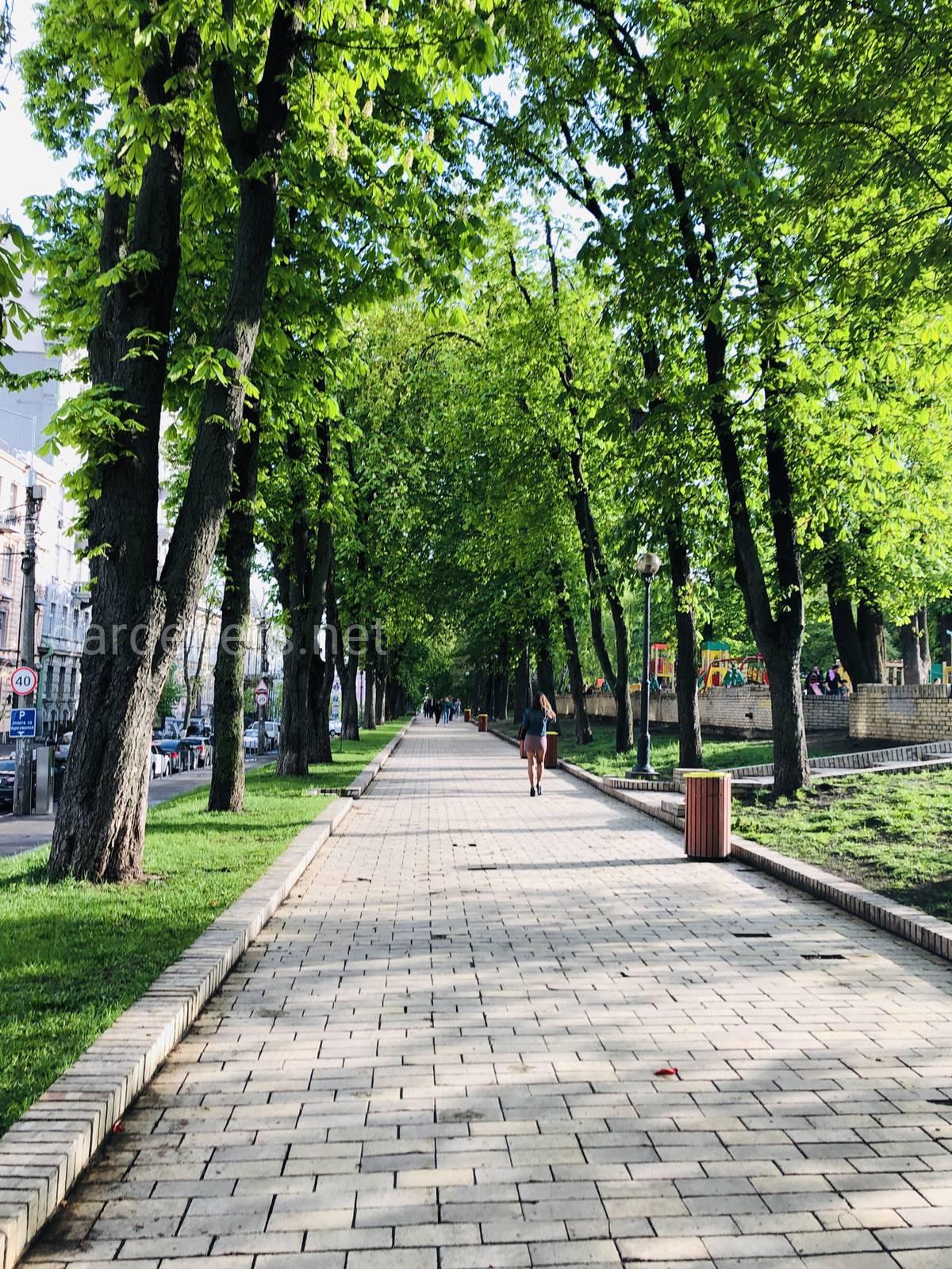 Парк им Тараса Шевченко, Киев