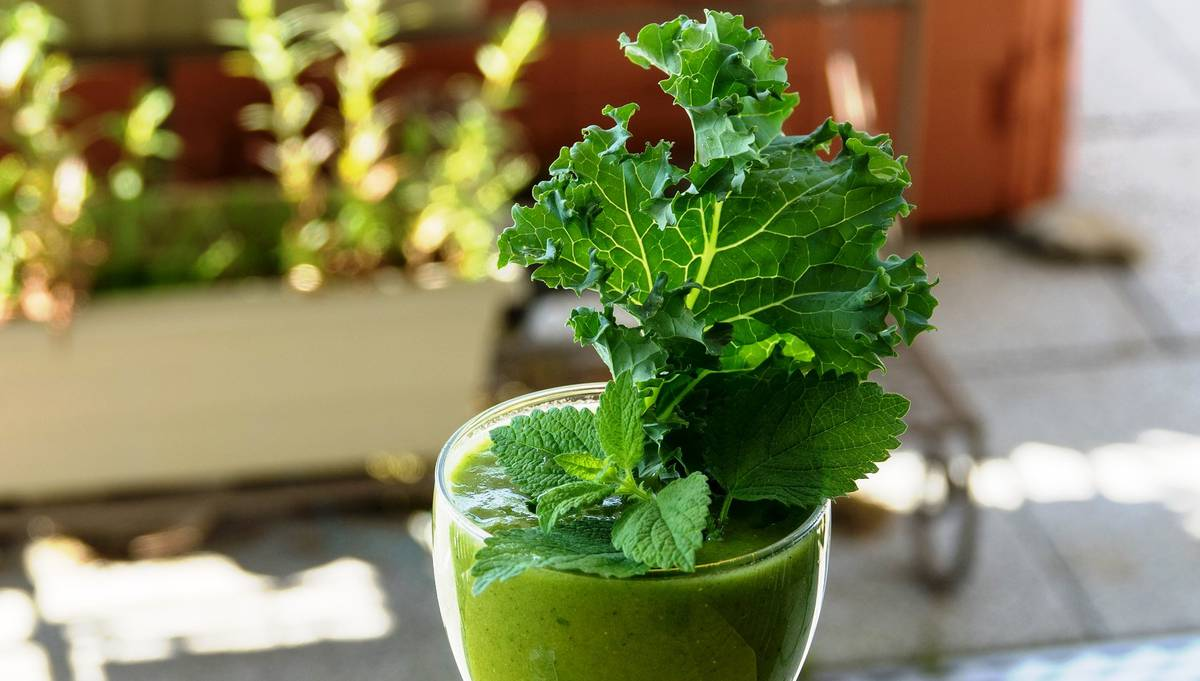 зеленые смузи - вкусно и весело!