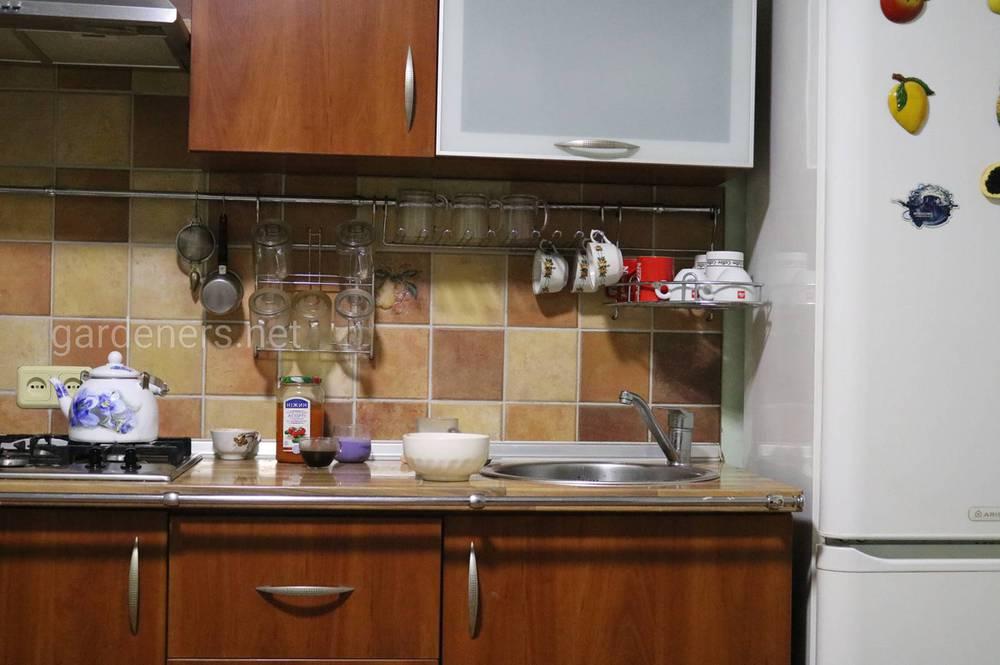 маленькая и удобная кухня