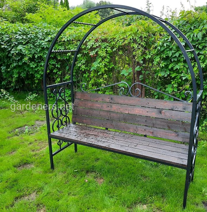 Прикрашаємо сад за допомогою арки