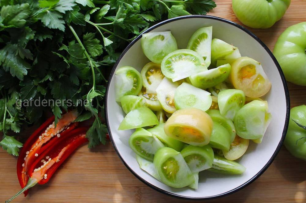 Зелені помідори