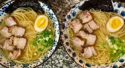 Японская лапша «Мисо Рамен» рецепт за 5 минут!