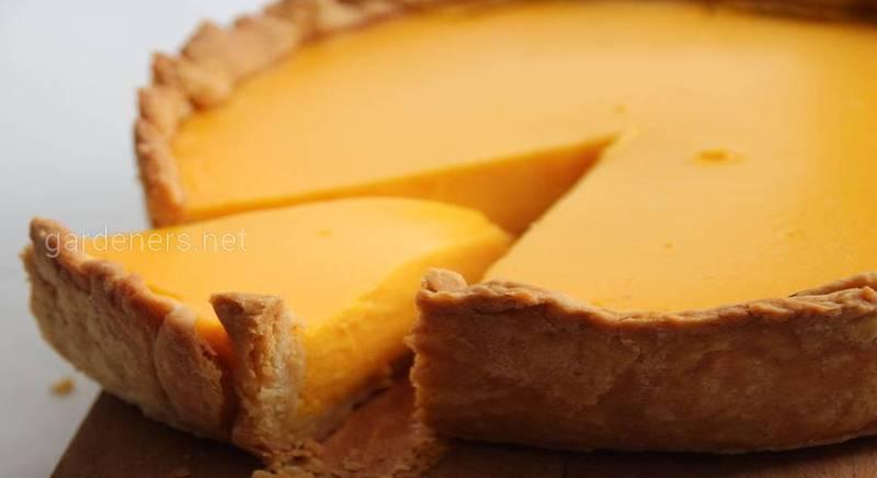 Американський гарбузовий пиріг з корицею. Рецепт