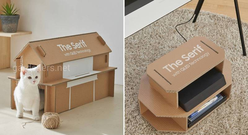 Инициатива компании Samsung по вторичному использованию упаковки