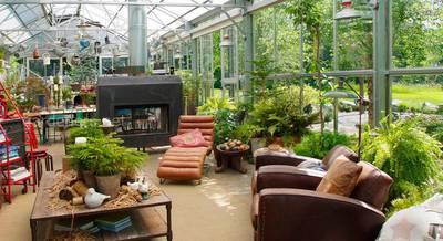 Как устроить зимний сад на участке и на балконе дома