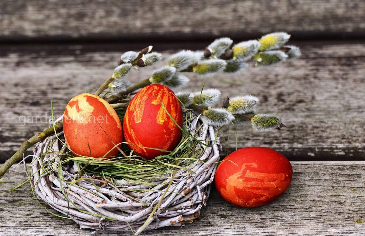 Яйца и куличи