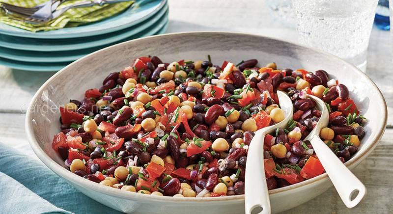 Салат из красной фасоли «Оригинальный». Рецепт