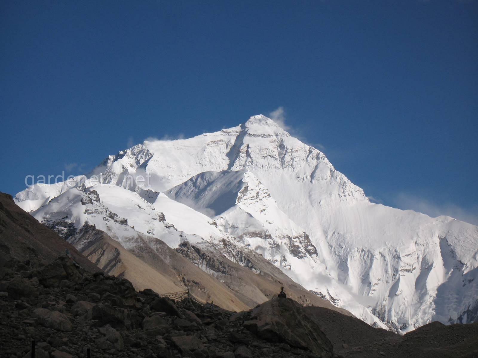 Северная сторона Эвереста. Фото Александр Партышев