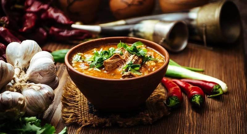Суп харчо. Рецепт