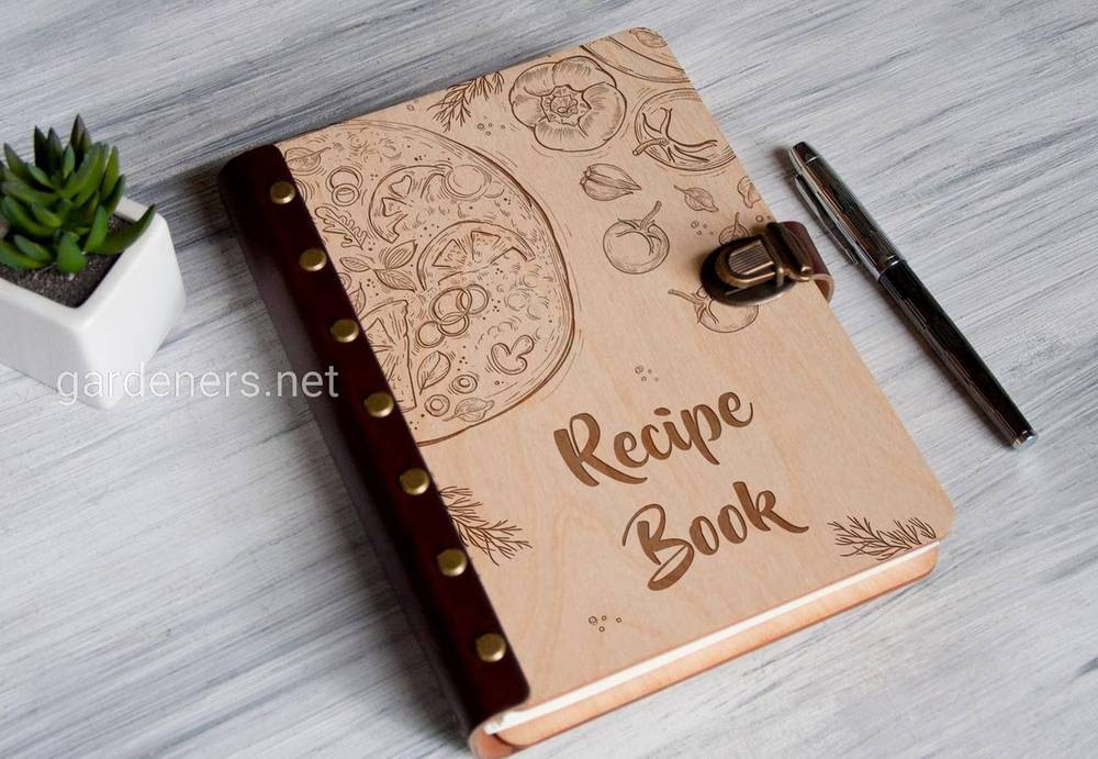 Красивые книги рецептов