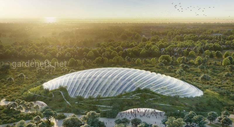 Самая большая в мире тропическая теплица