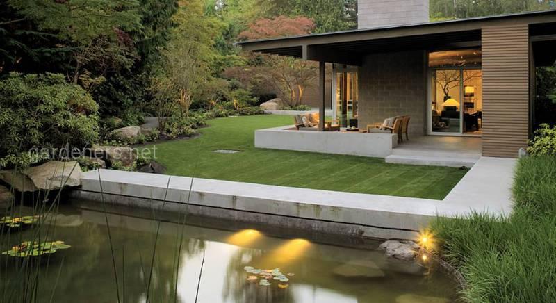 Особенности садового минимализма