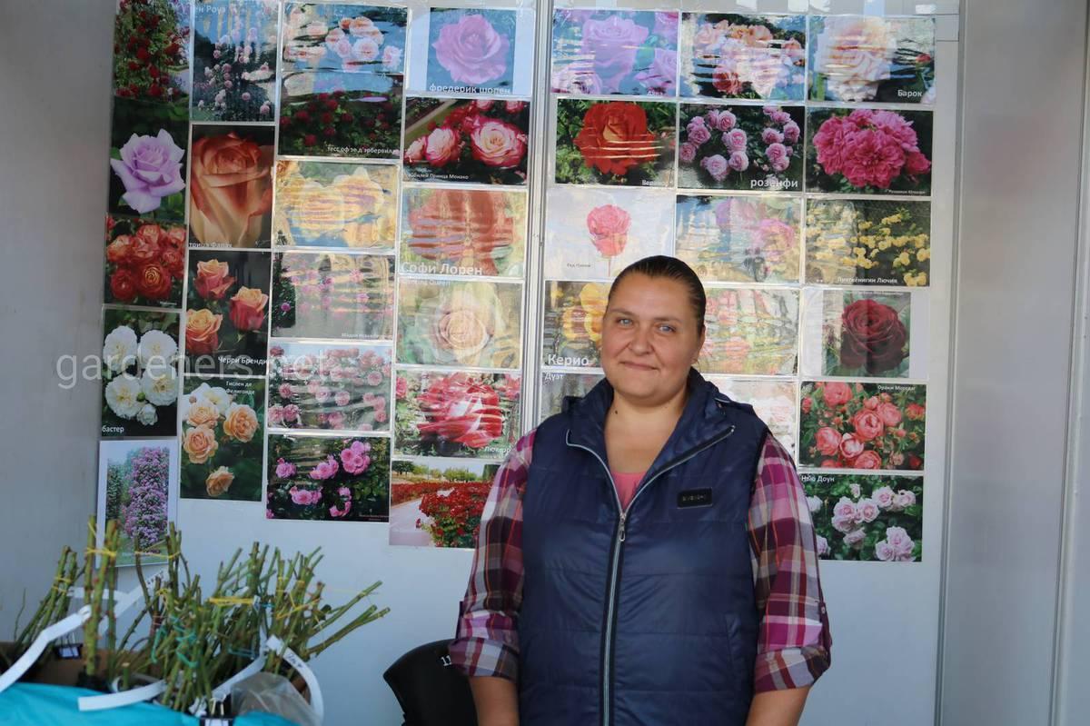коллекционер роз  Мельникова Татьяна Валерьевна