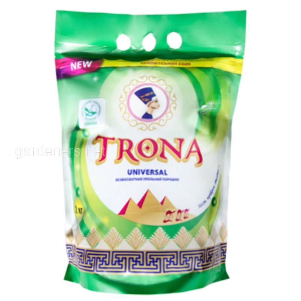 "ЕКО пральні порошки торгової марки ""TRONA"""