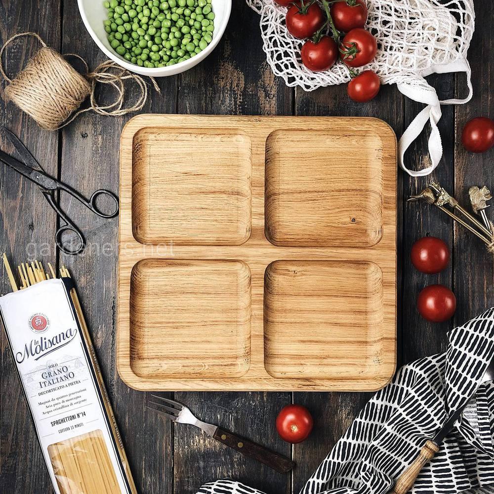 Оригинальная посуда из дерева от талантливых мастеров LuxWood
