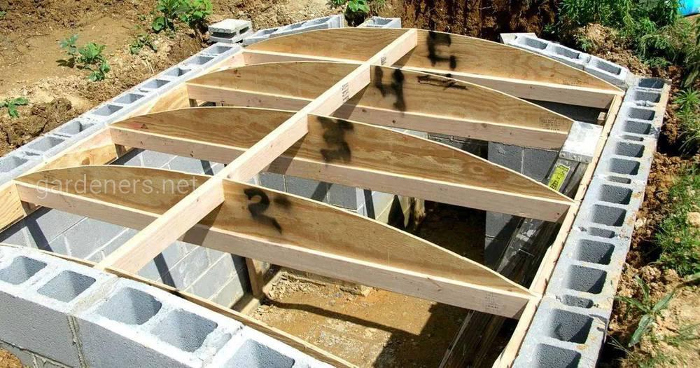 Ідеї, як зробити якісний дах в погребі