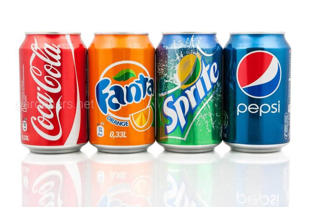 Pepsi, Coca-cola, Fanta