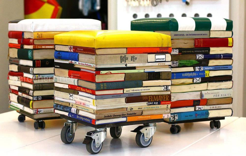 столики из книг