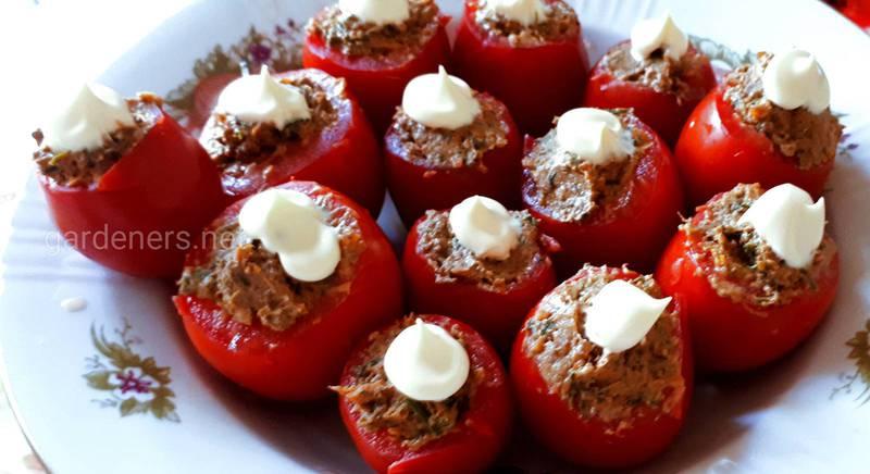 Фаршированые томаты