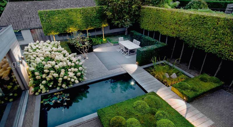 Садовий стиль хай-тек