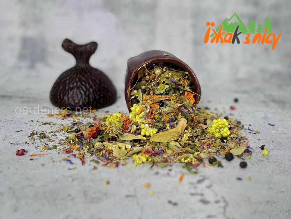 Карпатський трав'яний чай і збори