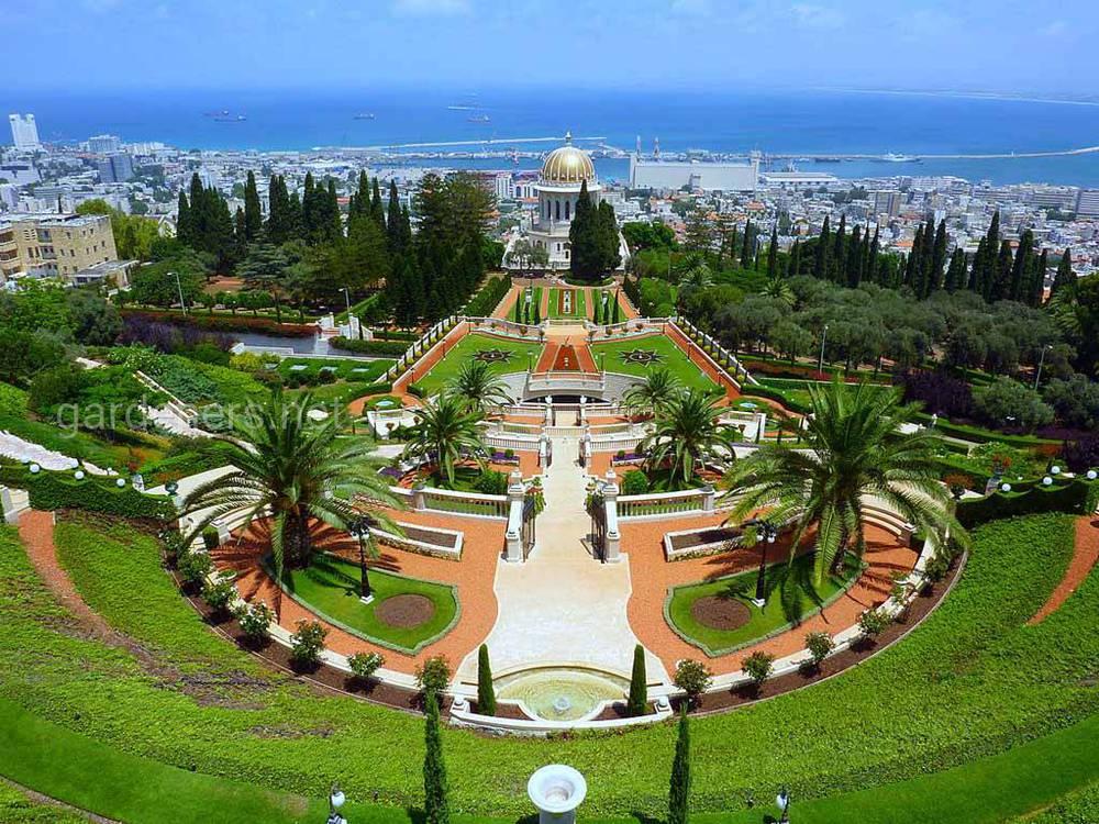 Бахайские сади в Хайфі