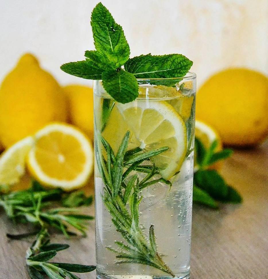 лимонад зі стевіей