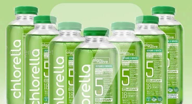Биоактивный напиток на основе Живой микроводоросли Chlorella