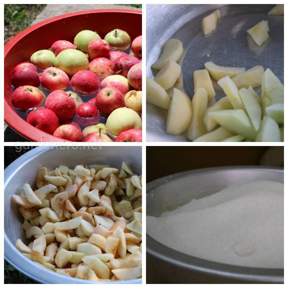 Яблочное варенье - быстрый рецепт