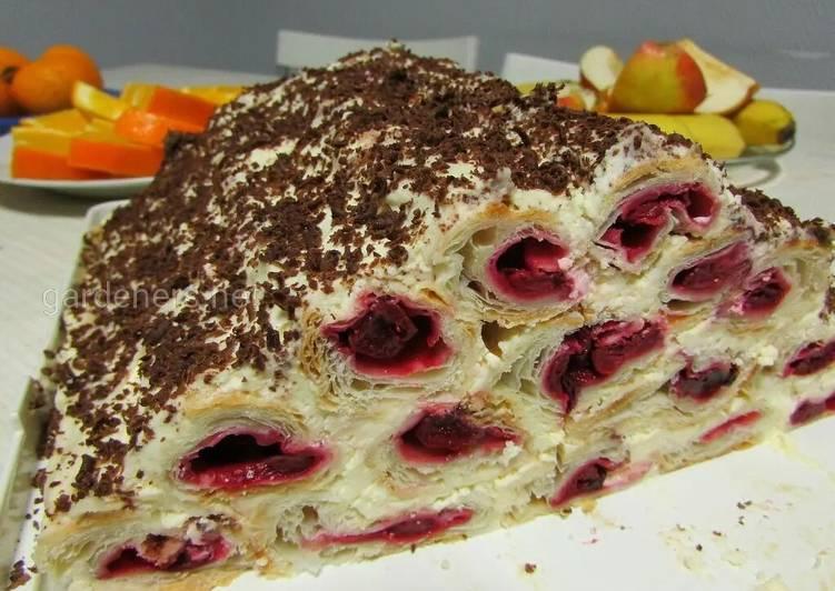 Торт «Монастырская изба» на скорую руку