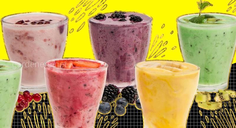 Как сделать смузи из замороженных фруктов?