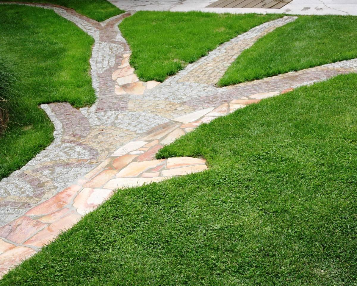 садовая дорожка - дерево