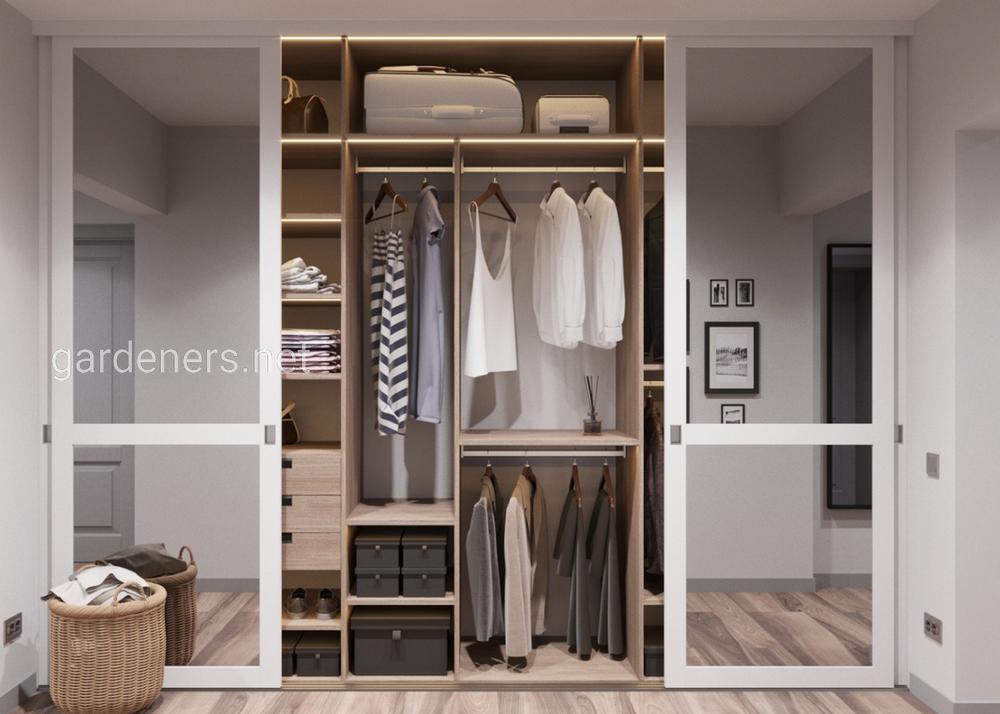 система хранения в маленькой квартире