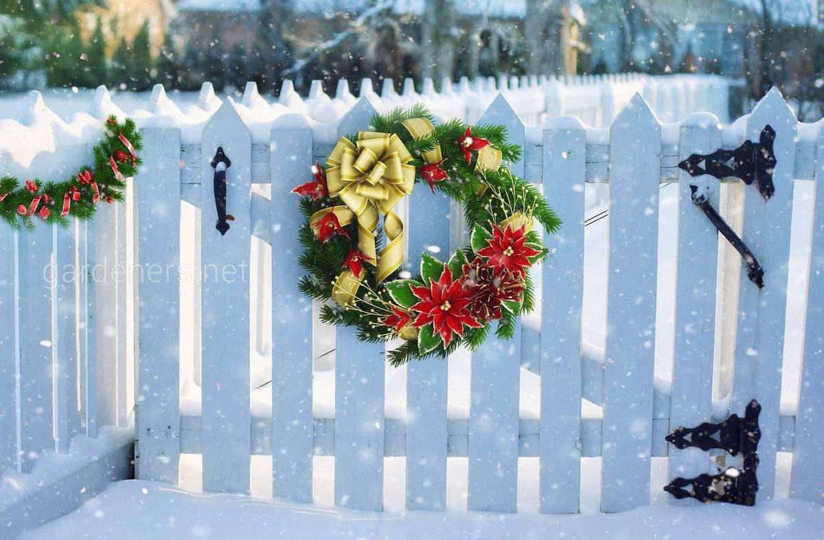 рождественский венок как символ