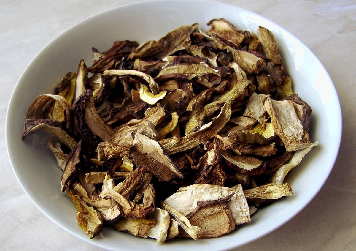 сушенные грибы