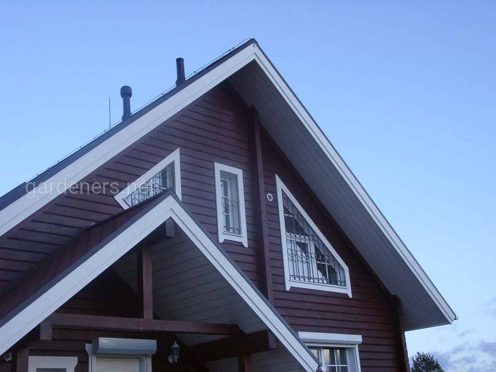 Выбираем фасад под цвет крыши