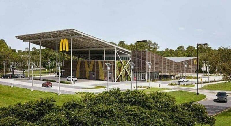 Зеленый McDonald's работает без потребления электричества?!
