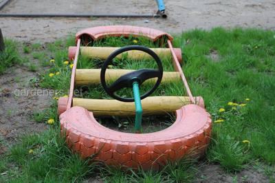 площадка для детей в саду