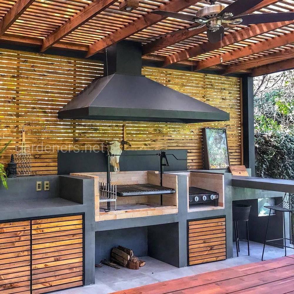 идеи для строительства летней кухни