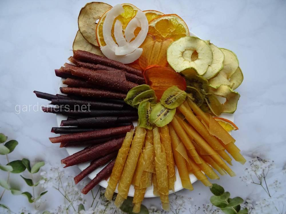 Пастила фруктовая домашнего изготовления