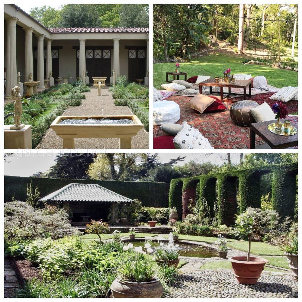 сад в персидском стиле
