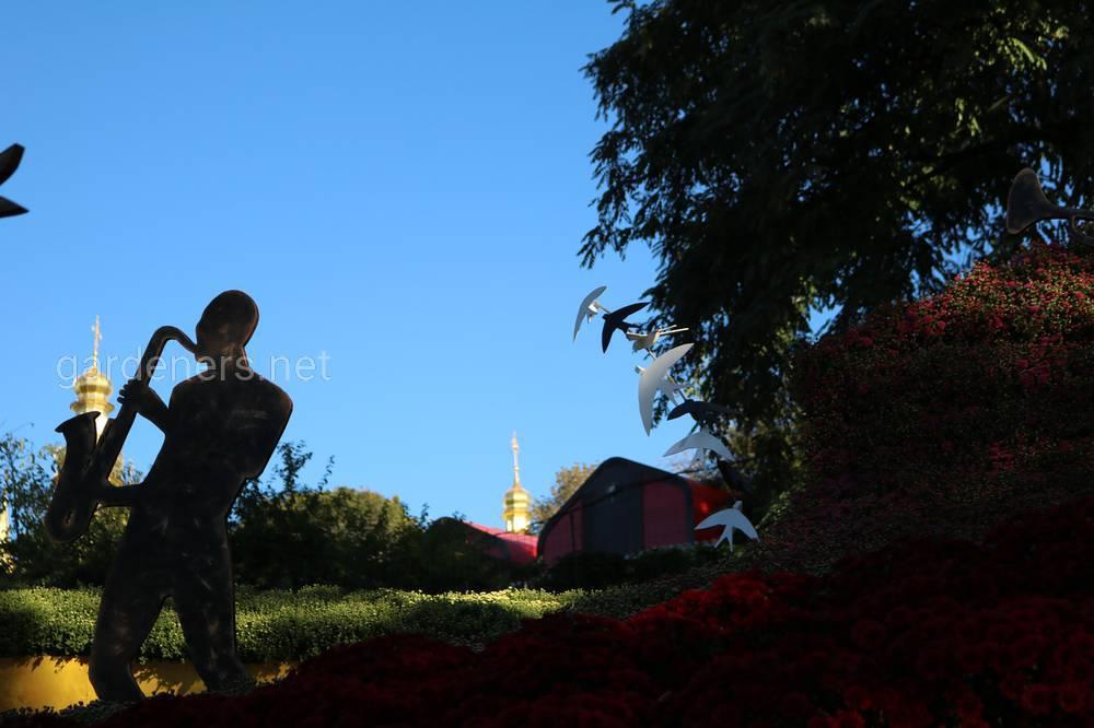 На Певческом поле в Киеве проведут фестиваль хризантем