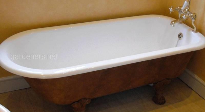 Как восстановить эмаль на ванне своими руками