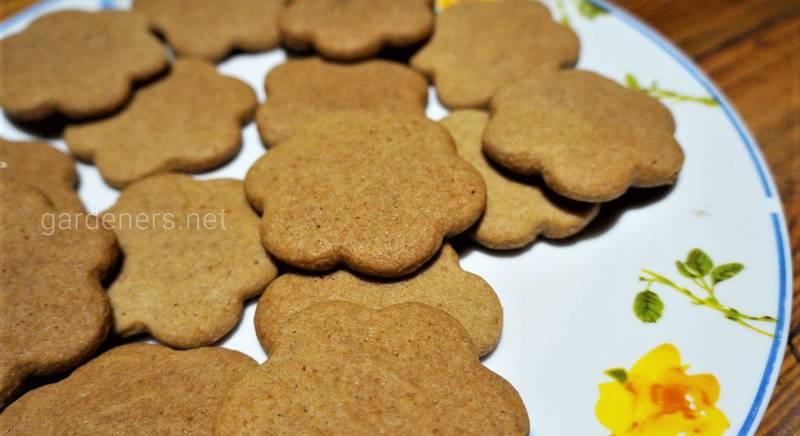 Рецепт имбирного печенья.