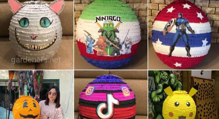 Изделия для декорации детских праздников